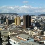 Panoramic view of Quito, Ecuador — Stock Photo #24090873