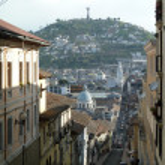 Panoramic view of Quito, Ecuador — Stock Photo #24100815