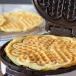 Waffle Makers in operation — Stock Photo