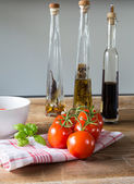 Bruschetta ingredients — Stock Photo