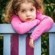 Pensive child — Stock Photo