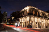 French Quarter at Night — Stock Photo