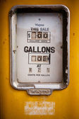 Bracknell gas pump — Stock Photo