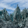 Stock Photo: Fox Glacier Peaks