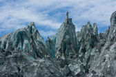 Fox Glacier Peaks — Stock Photo