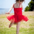 Dancing child — Stock Photo