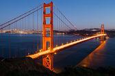 Golden Gate View — Zdjęcie stockowe