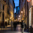 Shopping in Lucca — Stock Photo