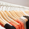 Clothes On a Rack — Foto Stock