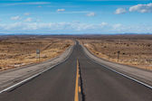Open highway in New Mexico — Stock Photo