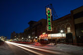 Fargo Theater — Stock Photo
