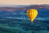 Hot Air Balloon At Sunrise — Stock Photo