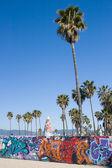 Venice Beach Graffiti — Stock Photo