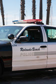 Redondo Beach Police Car — Stock fotografie