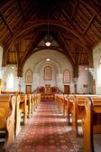 Interior of Ross Uniting Church — Stock Photo