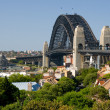 Stock Photo: View of Sydney Harbour from Observatory Park