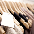 Stock Photo: Clothes On a Rack