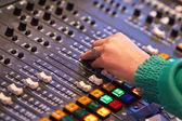 Mesa de sonido — Foto de Stock
