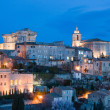 Dusk in Gordes — Stock Photo