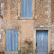 Stock Photo: Provencal Doors