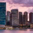 Sydney CBD and Circular Quay at Dusk — Stock Photo #30742473