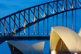 Sydney Opera House at Dusk — Stock Photo