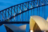 Sydney Opera House at Dusk — Stock Photo