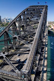 The Sydney Harbour Bridge towards North Sydney — Stock Photo