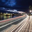 Brisbane Rush Hour Traffic — Stock Photo