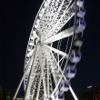Stock Photo: Wheel of Brisbane At Night