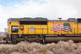 Union Pacific Train on Standby — Stock Photo