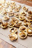 Mushroom Canape — Stock Photo