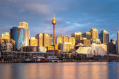Sydney CBD at Dusk — Stock Photo