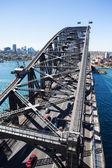 North Sydney from the Harbour Bridge — Stock Photo