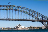 Sydney Harbour Bridge on a Clear Day — Stock Photo