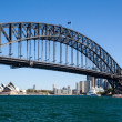 Sydney Harbour Bridge on a Clear Day — 图库照片