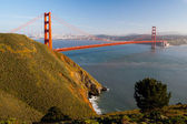 Golden Gate View from Marin Headlands — Stock Photo