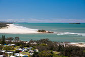 Maroochydore and Twin Waters — Stock Photo