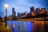 Melbourne Skyline — Stock Photo