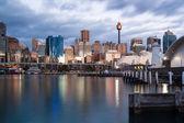 Sydney CBD at Dusk — Stock fotografie