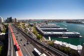 Walsh Bay From The Harbour Bridge — Stock Photo