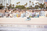 Santa Monica Beach Front — Stock Photo