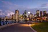 Sydney CBD from Dawes Point Park — Stockfoto