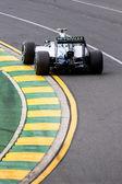 Mercedes f1 em ação no gp da austrália — Foto Stock