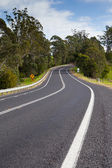 Winding Australian Road — Stock Photo