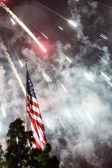 Independance Day Fireworks — Stock Photo