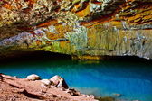 Kauai Blue Room Cave — Stock Photo