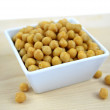 Closeup chickpeas — Stock Photo #23262758