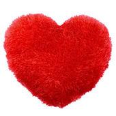 Almofada de dia dos namorados de forma coração fofo — Foto Stock