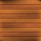 Wood plank brown texture background. Vector — Stock Vector